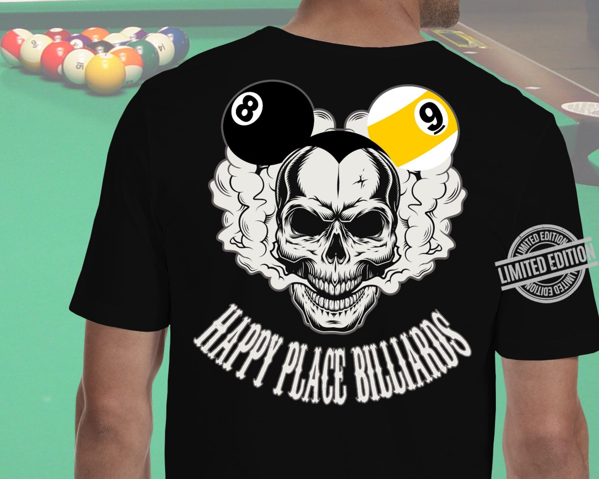 Happy Place Billards Shirt
