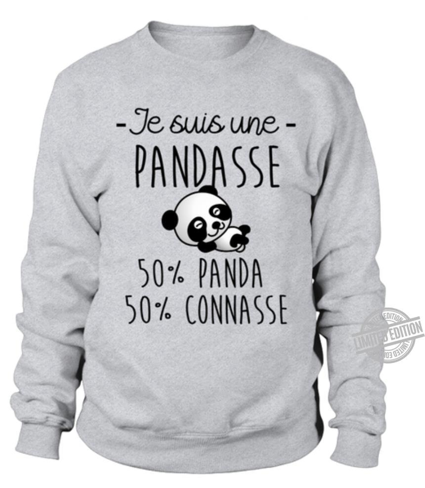 Je Suis Une Pandasse 50% Panda 50% Connasse Shirt