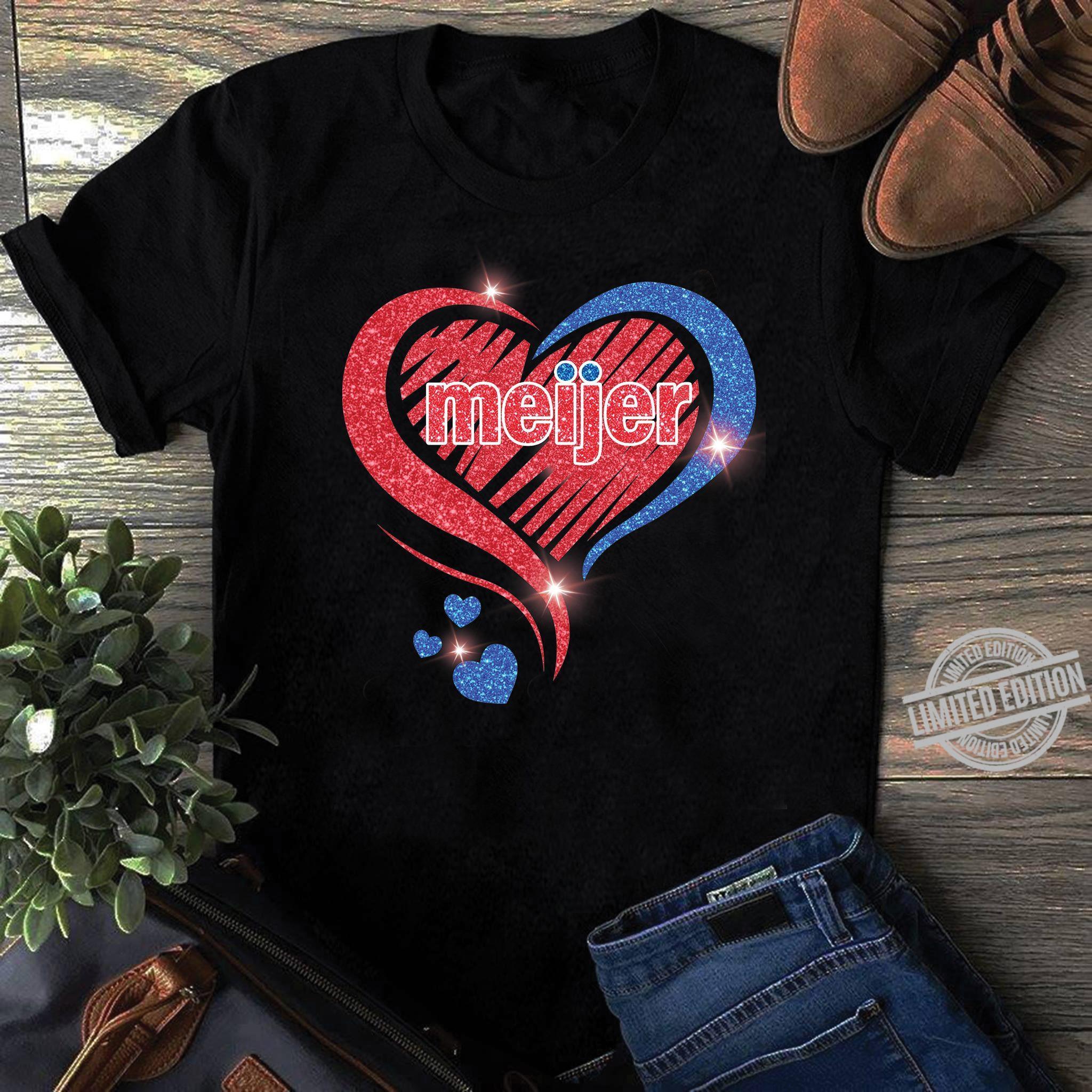 Meijer In The Diamond Heart Shirt